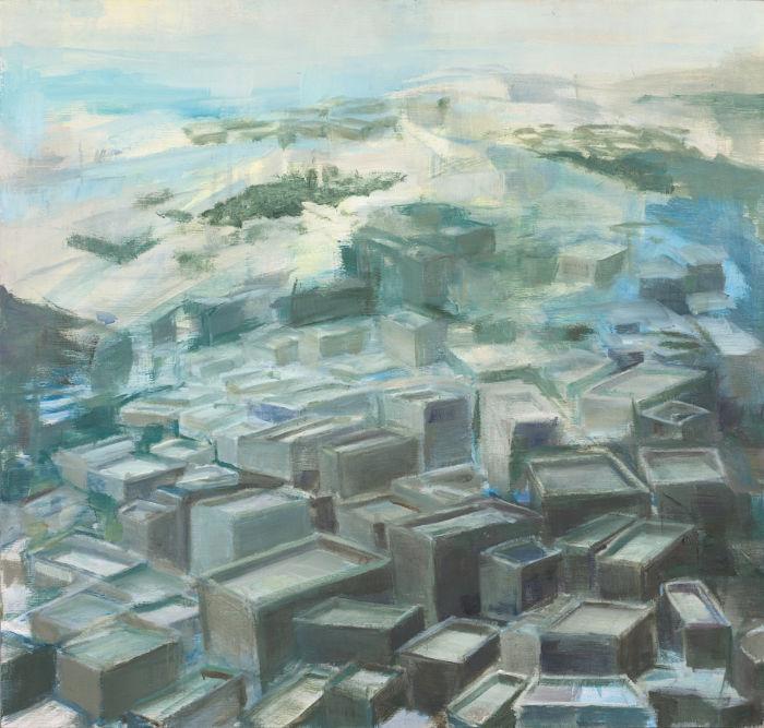 roofing2-Malerei-Gabriela-Kobus-Zeitgeno