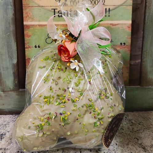 COLOMBA ARTIGIANALE pistacchio