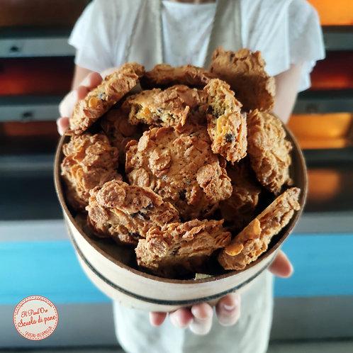 ROSE DEL DESERTO -cornflakes e gocce di cioccolato -