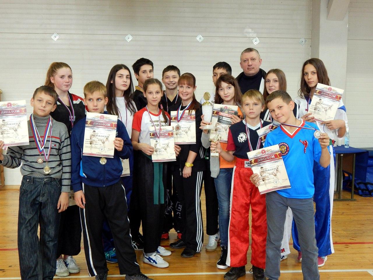Кубок Омской федерации кикбоксинга, сентябрь 2016
