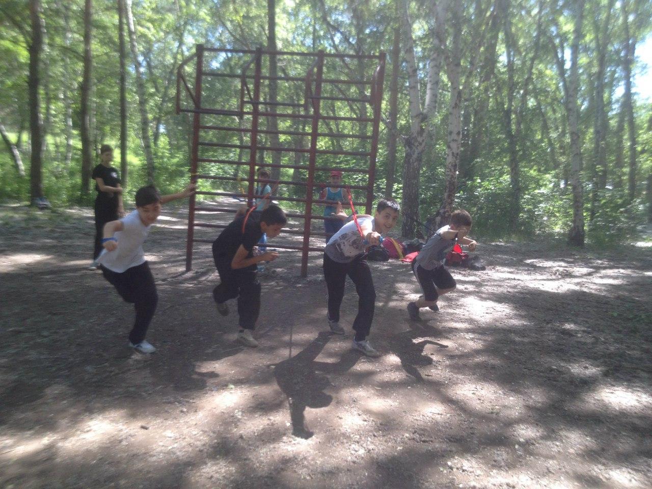 Летние тренировки в парке САО
