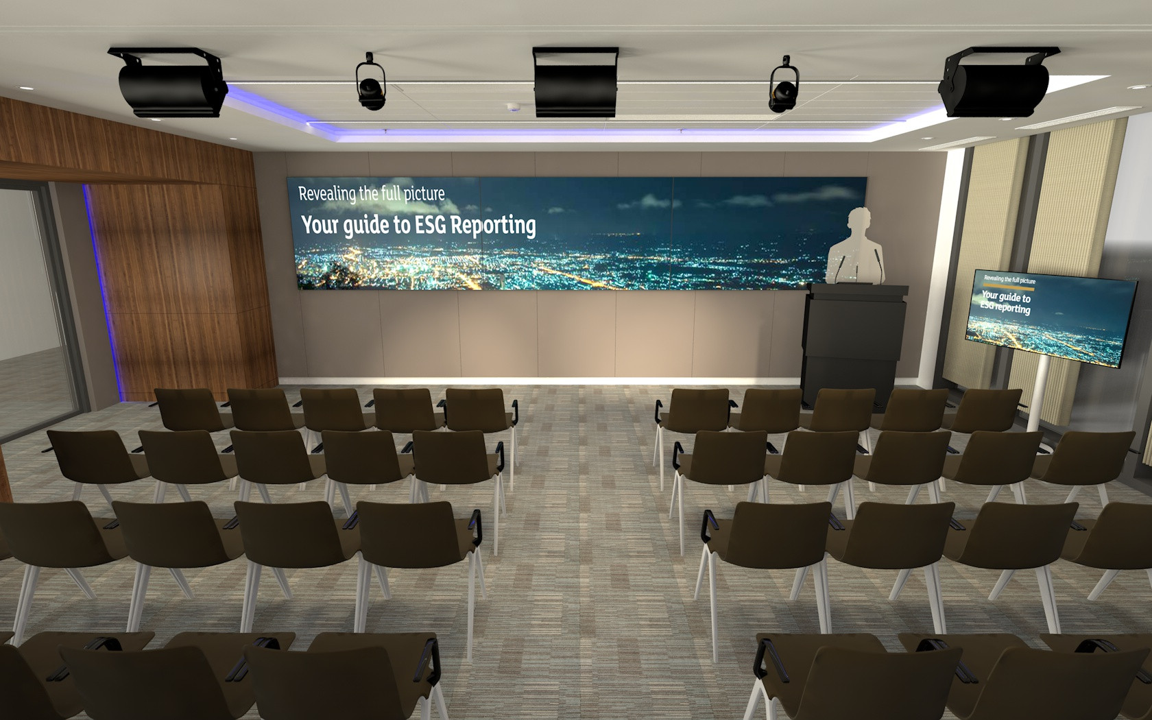 New Multifuction Events Space - High Profile Financial Trading Client - City of London