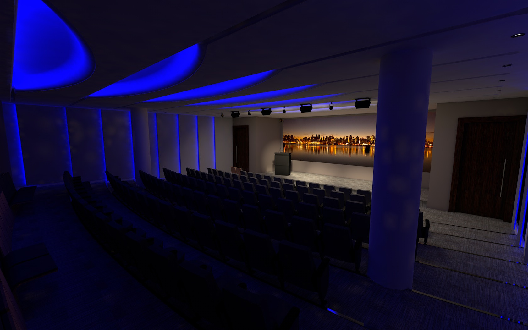 New Auditorium Scheme - High Profile Financial Trading Client - City of London