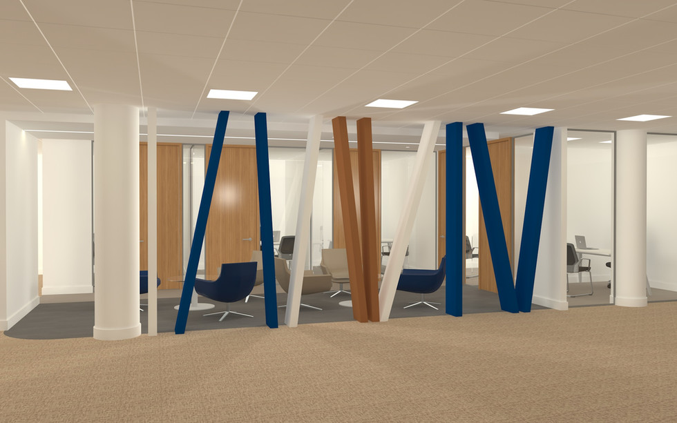 New Breakout Space & Private Offices - Tate & Lyle - London