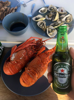 龍蝦牡蠣啤酒