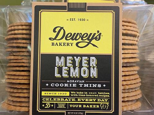 Dewey's Meyer Lemon Thin Cookie