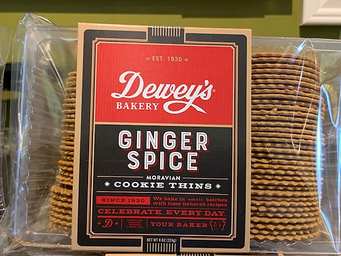 Dewey's Spiced Ginger Cookie