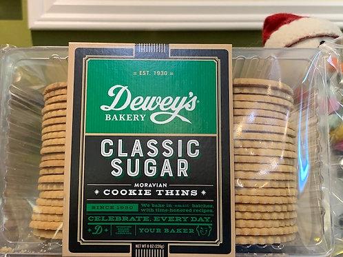 Dewey's Classic Sugar Thin Cookie
