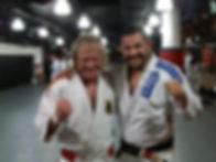Stefan als Jiu-Jitsu Trainer im EVOLVE Singapur