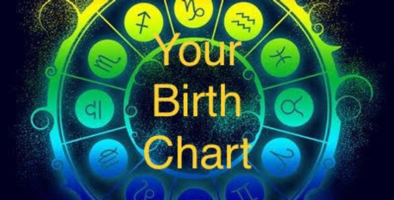 birth chart  30 min video in  15 days ((English only)