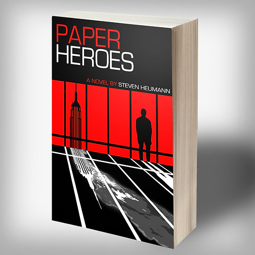 SIGNED Paper Heroes PAPERBACK