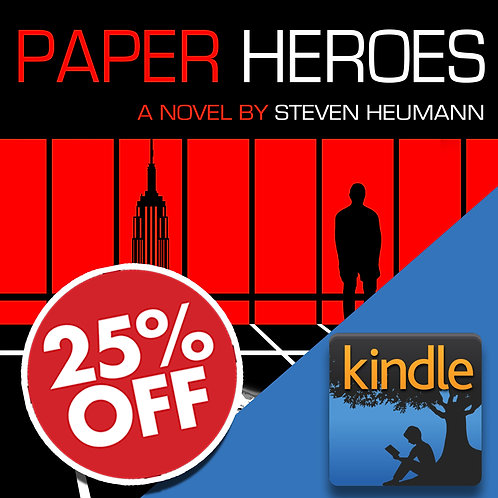 25% Off Paper Heroes