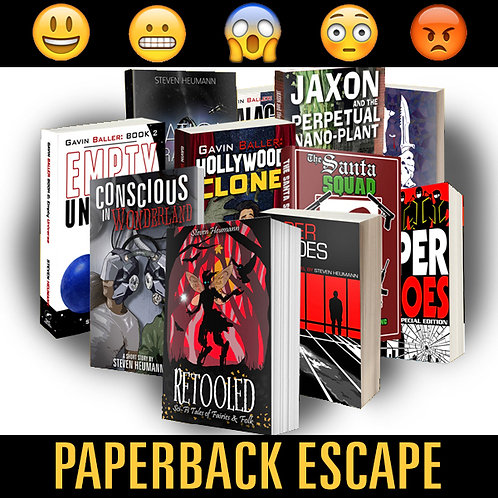 PAPERBACK ESCAPE: Over 50 Hours of Reading for $149.99
