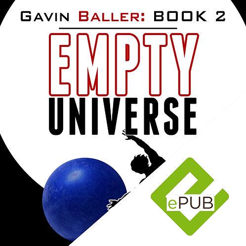 Gavin Baller Book 2 (Barnes & Noble, Apple iBookstore, and Kobo)