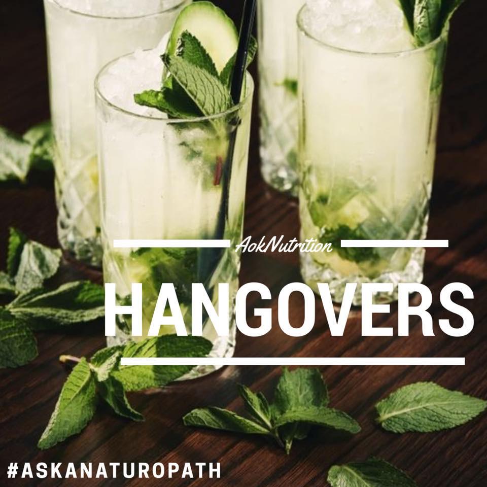 #AskANaturopath Hangover Cures!