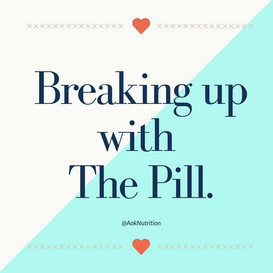 Breaking Up With The Pill