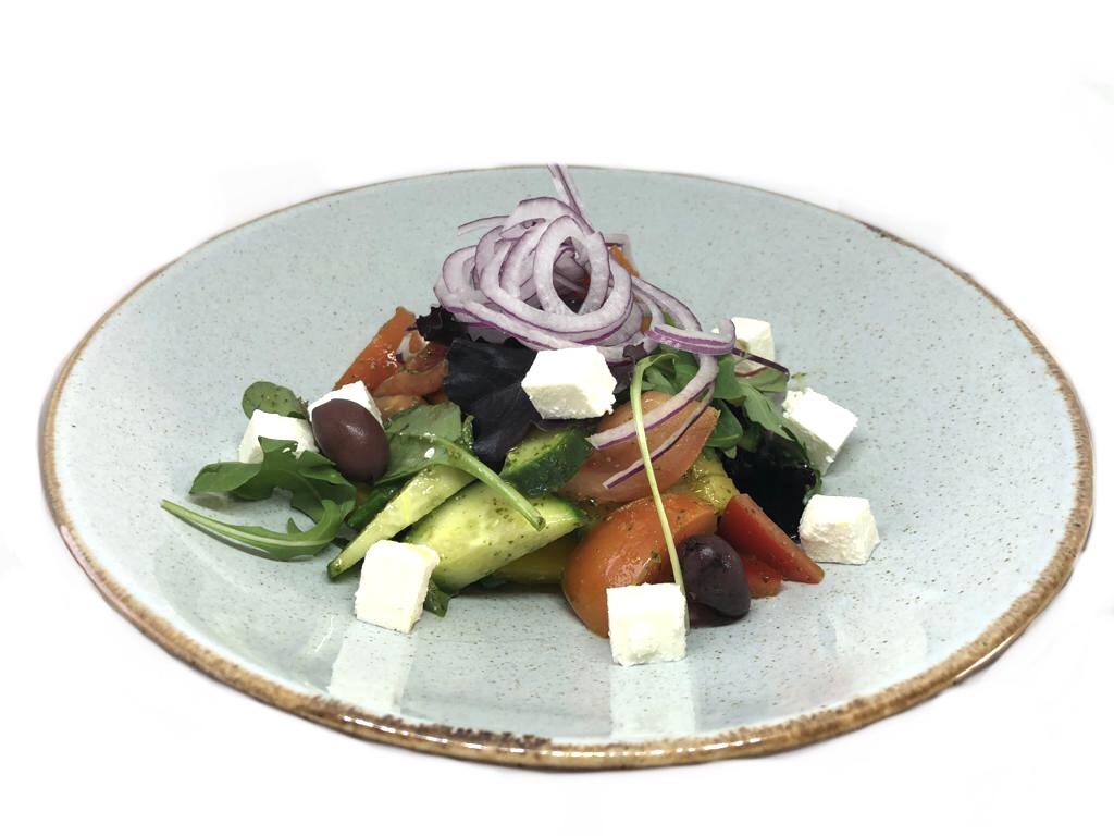 grieķu salāts