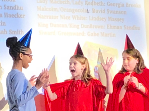 Grahamwood's students perform Shakespeare with a decidedly modern twist
