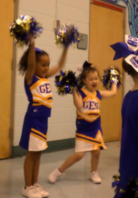 Grahamwood Cheerleaders!
