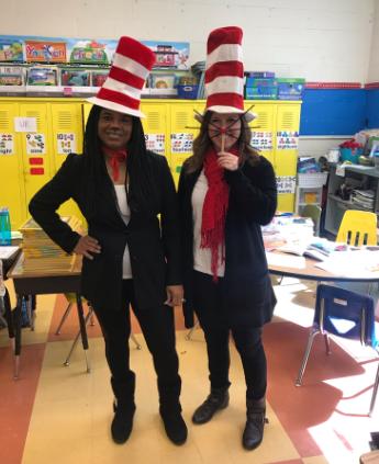 Grahamwood Elementary students and teachers enjoy Dr. Seuss Week!