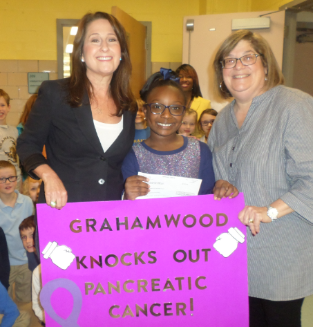 Grahamwood students raise funds to Knock Out Pancreatic Cancer