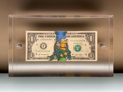 One dollar Marge
