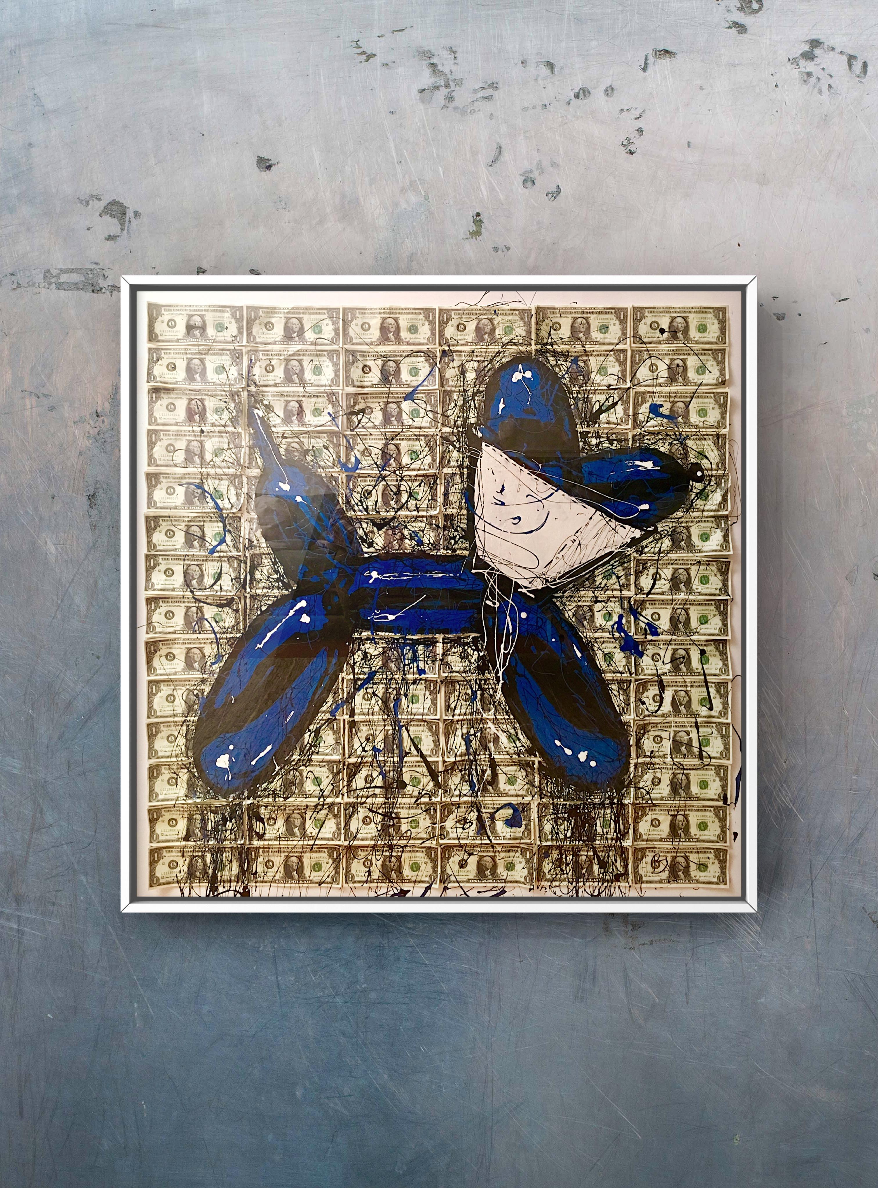 Koons blue elizabethan