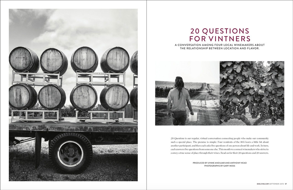 20 Questions For Vintners