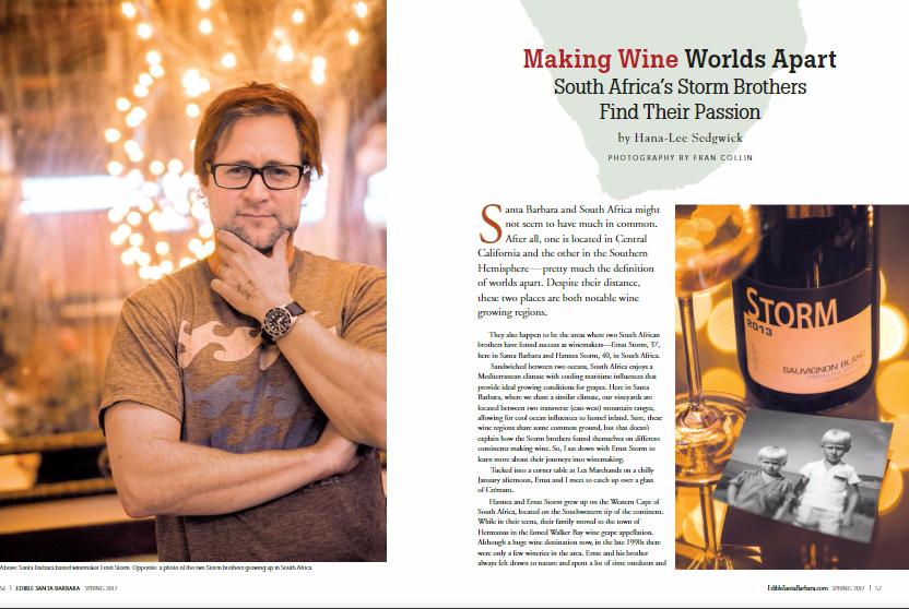 Making Wine Worlds Apart