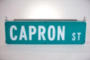 Solar Street name sign
