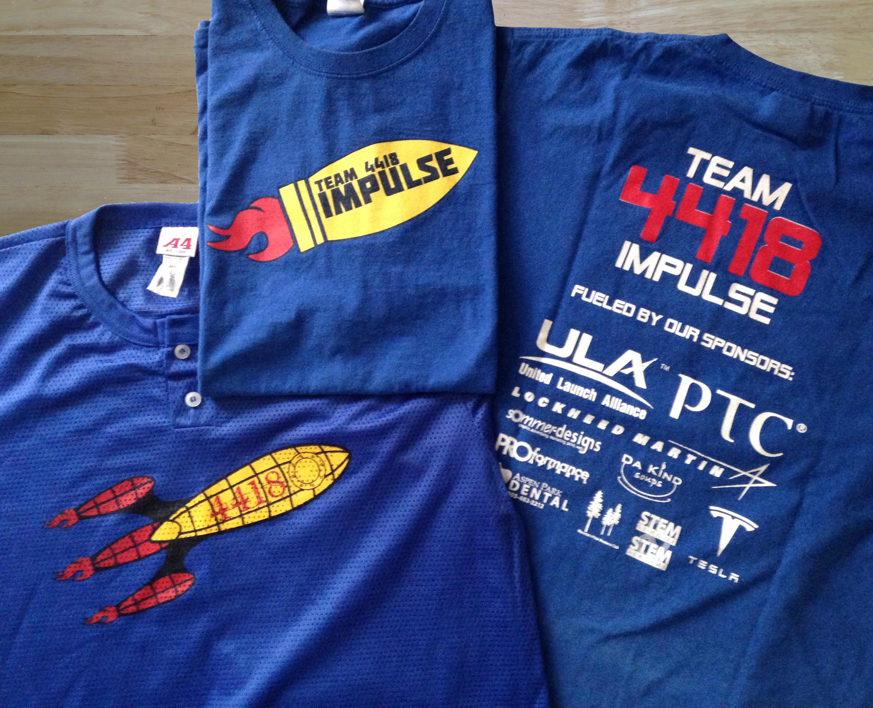 FRC T-shirts