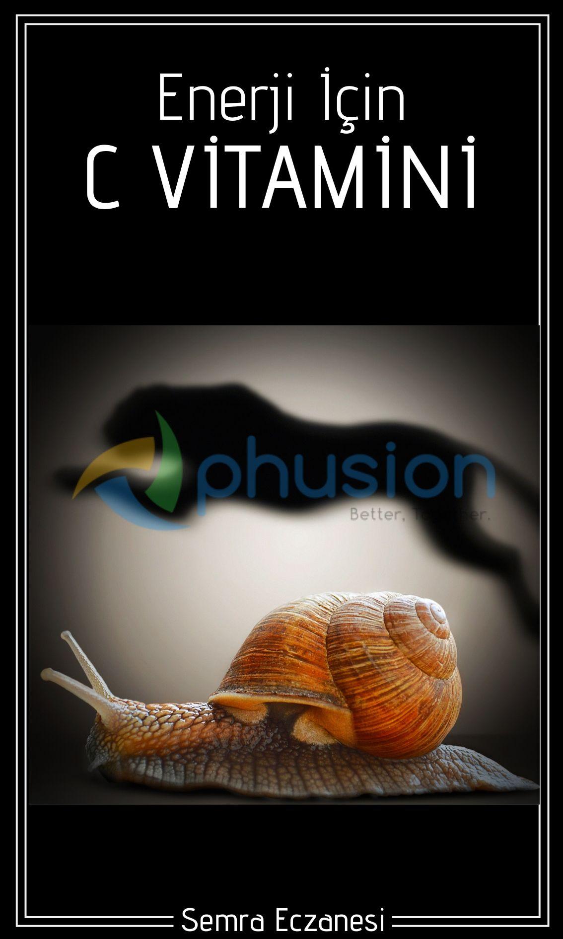 enerji için c vitamini