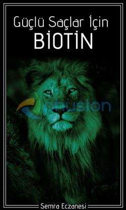 saç sağlığı için biotin