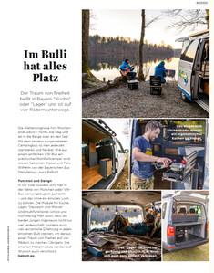 Advertorial Bayerische Bus Manufaktur I Magazin Bergwelten I Ausgabe 3/20