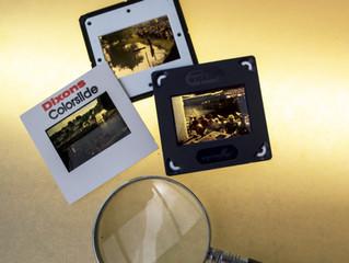 Using 35mm slides