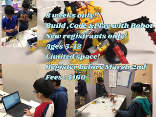 8 Week Afterschool Robotics Course!