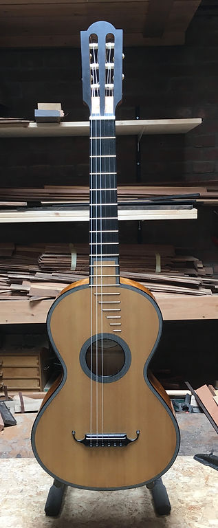 19th century guitar after Lacote