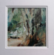 Through the woods, North mendips 14x14cm