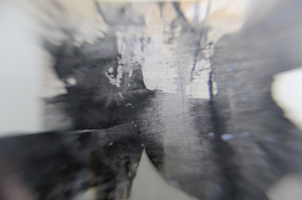 J Kerr, Harridge Wood, studies of reflections in the stream