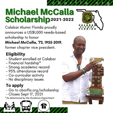 McCalla named