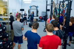 Открытие фитнес клуба Физика