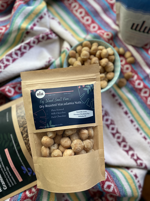 All Natural Hawaiian Macadamia Nuts