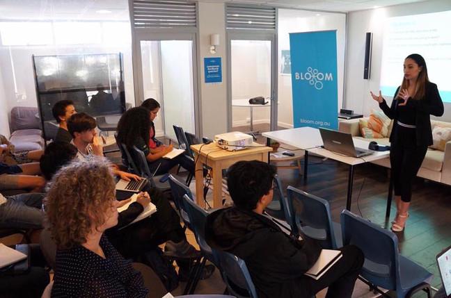 Yasmin Walter becomes a mentor to young entrepreneurs  [BLOOM/UWA]