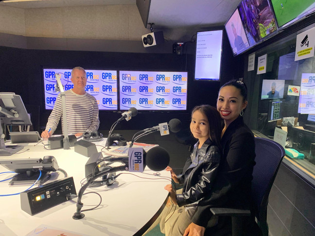 6 year old writes a book for FIFO kids [6PR Radio]