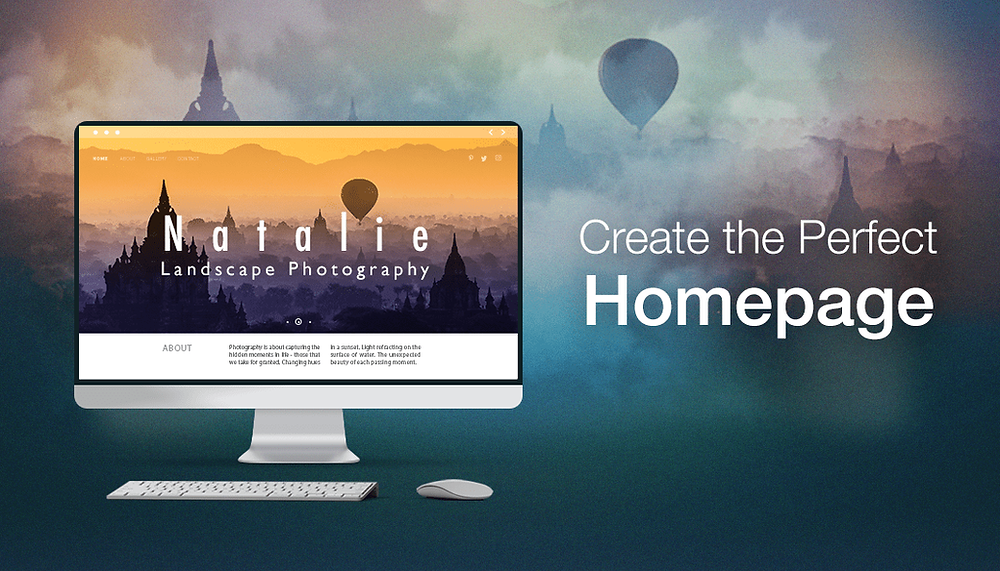 How to Nail the Home Page of Your Photography Website