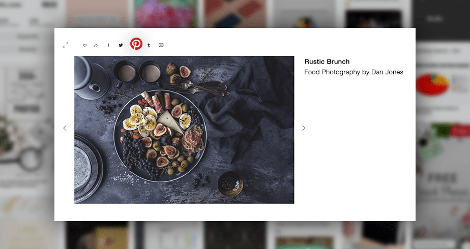 share your photos on pinterest with wix