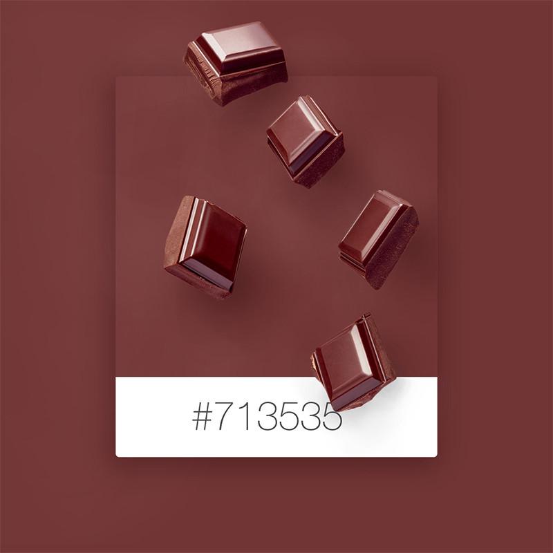 Wix Pinterest color inspiration: chocolate