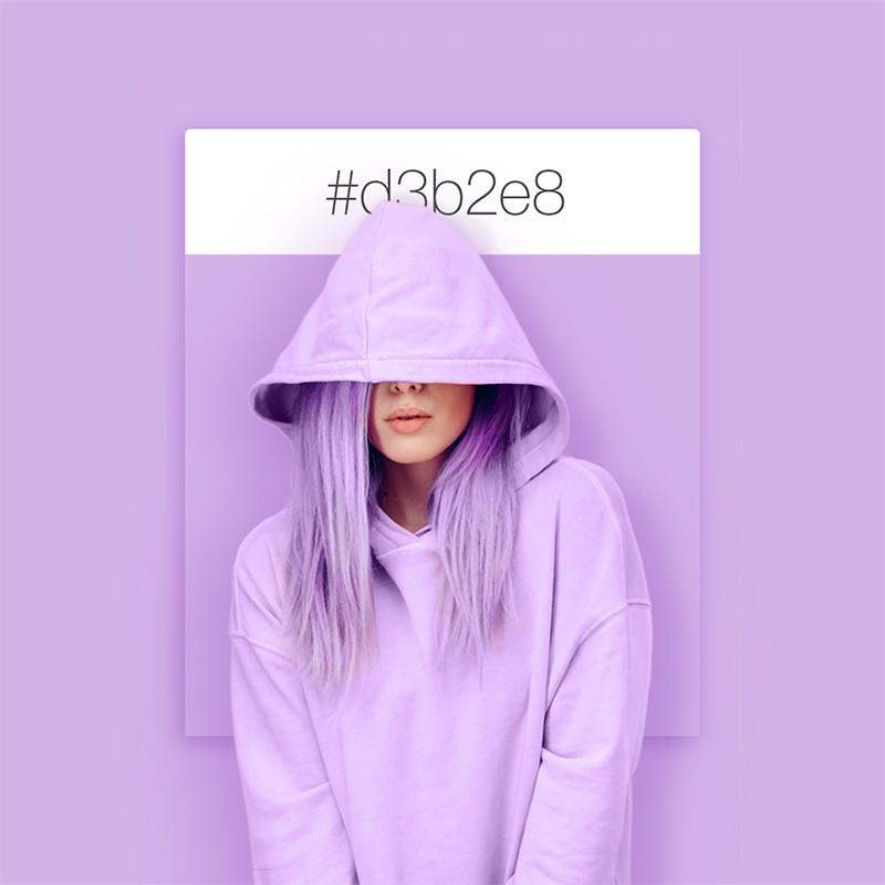 Wix Pinterest color inspiration: lavender