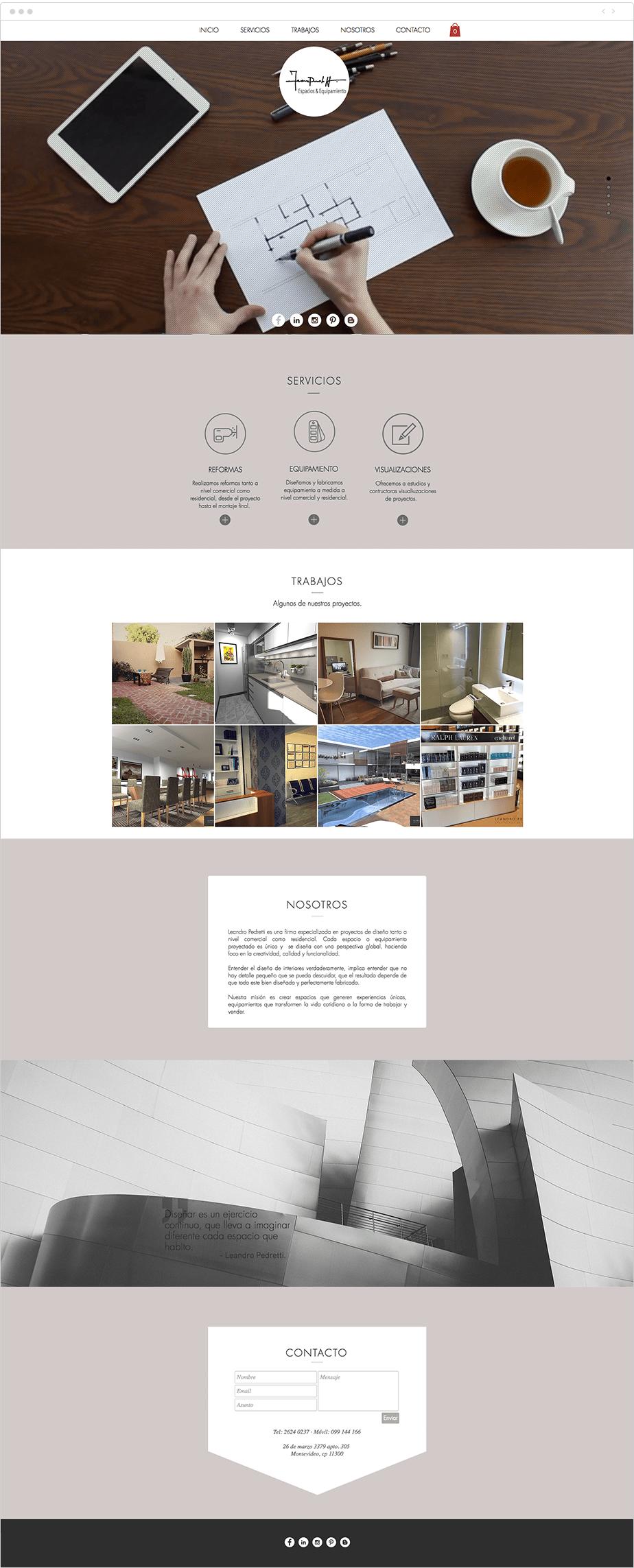 leandro pedretti - Arquitecto