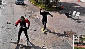 Googleストリートビューが写したスキューバファイト